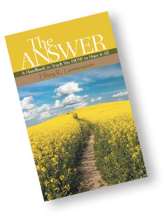 Mindfulness Book - The Answer Handbook Mindful Living Book